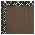 Capel Rugs Creative Concepts Java Sisal - Arden Black (346) Runner 2