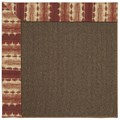 Capel Rugs Creative Concepts Java Sisal - Java Journey Henna (580) Runner 2