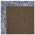 Capel Rugs Creative Concepts Java Sisal - Paddock Shawl Indigo (475) Rectangle 4