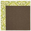 Capel Rugs Creative Concepts Java Sisal - Shoreham Kiwi (220) Rectangle 7