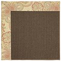 Capel Rugs Creative Concepts Java Sisal - Paddock Shawl Persimmon (810) Rectangle 7