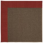 Capel Rugs Creative Concepts Java Sisal - Canvas Cherry (537) Rectangle 9' x 12' Area Rug