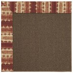 Capel Rugs Creative Concepts Java Sisal - Java Journey Henna (580) Rectangle 9' x 12' Area Rug