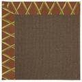 Capel Rugs Creative Concepts Java Sisal - Bamboo Cinnamon (856) Rectangle 9