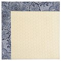 Capel Rugs Creative Concepts Sugar Mountain - Paddock Shawl Indigo (475) Octagon 4