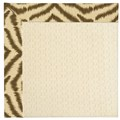 Capel Rugs Creative Concepts Sugar Mountain - Couture King Chestnut (756) Octagon 4