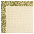 Capel Rugs Creative Concepts Sugar Mountain - Coral Cascade Avocado (225) Octagon 8