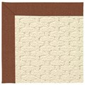 Capel Rugs Creative Concepts Sugar Mountain - Linen Chili (845) Octagon 8