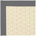 Capel Rugs Creative Concepts Sugar Mountain - Canvas Charcoal (355) Octagon 10