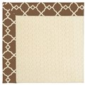Capel Rugs Creative Concepts Sugar Mountain - Arden Chocolate (746) Octagon 10