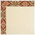 Capel Rugs Creative Concepts Sugar Mountain - Shoreham Brick (800) Rectangle 3