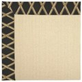 Capel Rugs Creative Concepts Beach Sisal - Bamboo Coal (356) Octagon 10