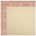 Capel Rugs Creative Concepts Beach Sisal - Imogen Cherry (520) Octagon 10