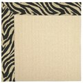 Capel Rugs Creative Concepts Beach Sisal - Wild Thing Onyx (396) Rectangle 8