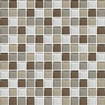"Daltile Color Wave Glass Mosaic 1"" x 1"" : Downtown Oasis CW2311MS1P"