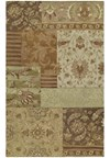 Nourison Collection Library Essex Manor (EM02-BUR) Runner 2'6
