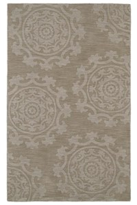 Nourison Collection Library Tropics (TS09-BRN) Rectangle 8'0