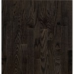 "Bruce Dundee Strip Oak: Espresso 3/4"" x 2 1/4"" Solid Oak Hardwood CB275"