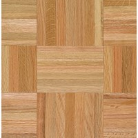 "Armstrong Urethane Parquet Oak: Standard 5/16"" x 12"" Solid Oak Hardwood 112110 <br> <font color=#e4382e> Clearance Sale! <br>Lowest Price! </font>"