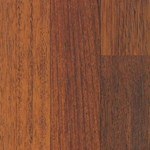 Quick-Step Home Sound Collection: Brazilian Cherry 3-Strip 7mm Laminate with Attached Pad SFS025