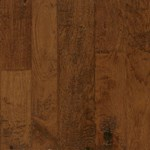 "Armstrong Artesian Hand-Tooled: Cinnabar Blush 1/2"" x 4"", 5"" & 6"" Random Width Engineered Hickory Hardwood EMW6301Z"
