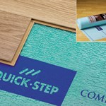 Quick-Step Combi Jumbo Underlayment (2000 sf roll)