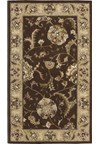 Capel Rugs Creative Concepts Cane Wicker - Granite Stripe (335) Octagon 4' x 4' Area Rug