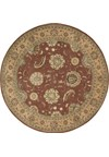 Capel Rugs Creative Concepts Cane Wicker - Vera Cruz Ocean (445) Octagon 6' x 6' Area Rug