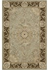 Capel Rugs Creative Concepts Cane Wicker - Shoreham Brick (800) Octagon 6' x 6' Area Rug