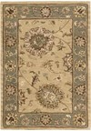 Capel Rugs Creative Concepts Cane Wicker - Bamboo Tea Leaf (236) Octagon 8' x 8' Area Rug