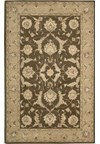 Capel Rugs Creative Concepts Cane Wicker - Capri Stripe Breeze (430) Octagon 12' x 12' Area Rug