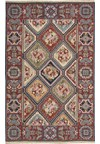 Capel Rugs Creative Concepts Cane Wicker - Canvas Cherry (537) Runner 2' 6