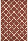 Capel Rugs Creative Concepts Cane Wicker - Canvas Citron (213) Rectangle 4' x 4' Area Rug