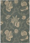 Capel Rugs Creative Concepts Cane Wicker - Vera Cruz Ocean (445) Rectangle 4' x 4' Area Rug