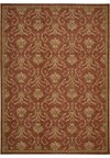 Capel Rugs Creative Concepts Cane Wicker - Canvas Brick (850) Rectangle 4' x 4' Area Rug