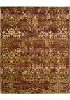 Capel Rugs Creative Concepts Cane Wicker - Granite Stripe (335) Rectangle 5' x 8' Area Rug