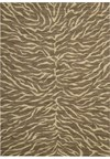 Capel Rugs Creative Concepts Cane Wicker - Canvas Citron (213) Rectangle 6' x 6' Area Rug