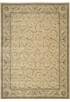 Capel Rugs Creative Concepts Cane Wicker - Shoreham Brick (800) Rectangle 10' x 10' Area Rug