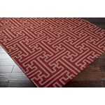 "Surya Smithsonian Archive Maroon (ACH-1701) Rectangle 8'0"" x 11'0"""