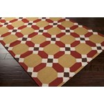 "Surya Smithsonian Archive Caramel (ACH-1715) Square 0'6"" x 0'6"""