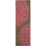 "Surya Artist Studio Brown (ART-206) Rectangle 2'6"" x 8'0"""