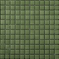 "Emser Lucente Solids Glass Mosaic 12.5"" x 12.5"" : Billiard Green"