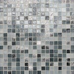 "Daltile City Lights Glass Mosaic 12"" x 12"" : London CL601212MS1P"
