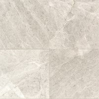 "Daltile Limestone: Arctic Gray Polished 12"" x 12"" Natural Stone Tile L757-12121L"