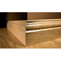 "Kahrs Original American Traditionals Collection:  Wall Base Oak San Antonio - 96"" Long"