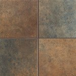 "Mannington Patchwork: Old Tapestry 6"" x 6"" Porcelain Tile PW3T06"