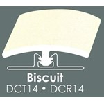 "Congoleum Duraceramic T-Mold: Biscuit - 94"" Long"