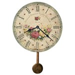 Howard Miller 620-401 Savannah Botanical Society VI Non-Chiming Wall Clock