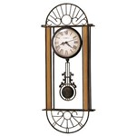 Howard Miller 625-241 Devahn Non-Chiming Wall Clock