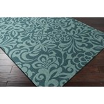 "Surya Candice Olson Modern Classics Teal Blue (CAN-2047) Rectangle 2'0"" x 3'0"""